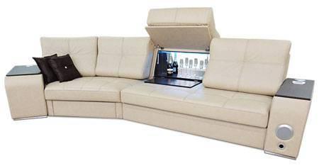Полукруглый диван в Москве с доставкой