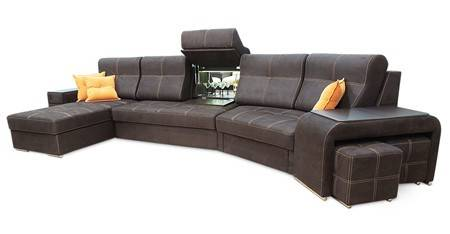 Стильные угловые диваны