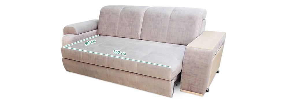 прямой диван на кухню с ящиком для хранения