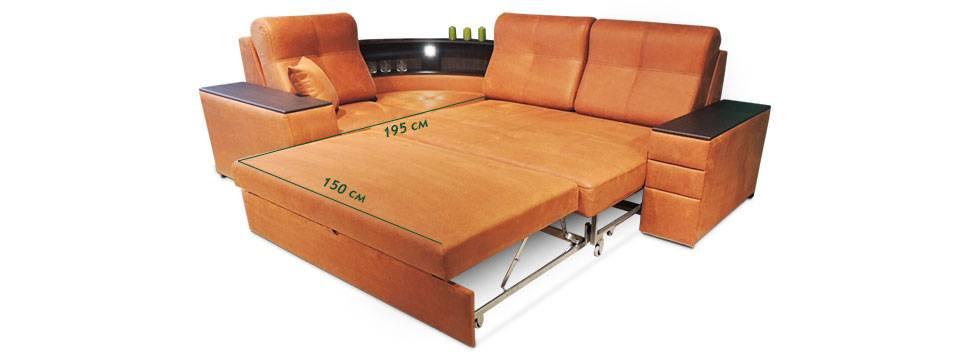 диван 120 см ширина раскладной в спб
